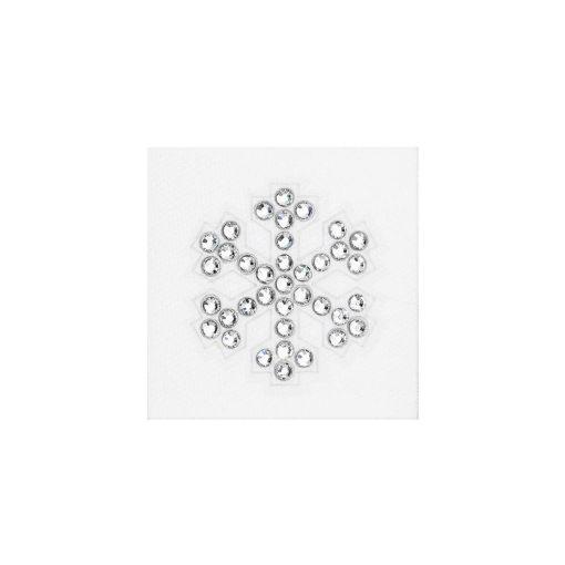 Snowflake crystal sticker - Hópehely  - PRECIOSA kristály matrica