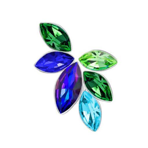 Flying Gem - Szárnyaló drágakő  - PRECIOSA kristály bross