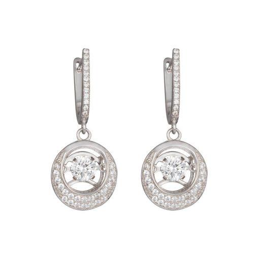 Shimmer - Csillámkő - PRECIOSA kristály fülbevaló