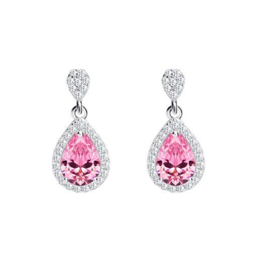 Rose - Illatfelhő - PRECIOSA kristály fülbevaló