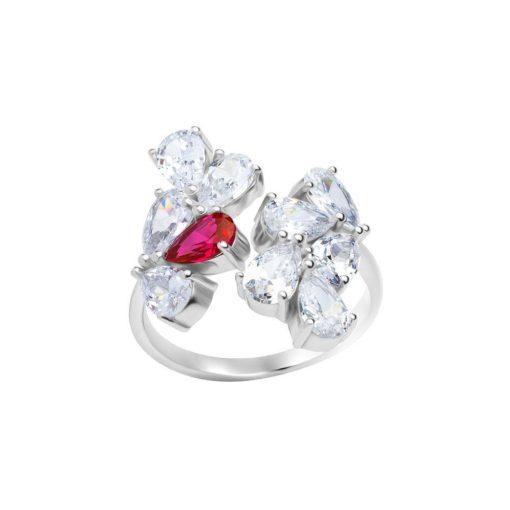 Libra Ring - Mérleg  - PRECIOSA kristály gyűrű