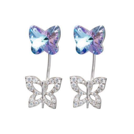 Butterfly Harmony - Társas összhang - PRECIOSA kristály fülbevaló