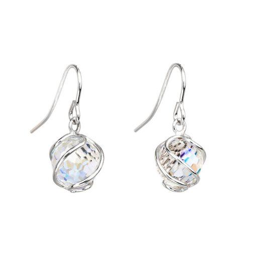 Romantic Beads - Romantikus gyöngyfűzér - PRECIOSA kristály fülbevaló