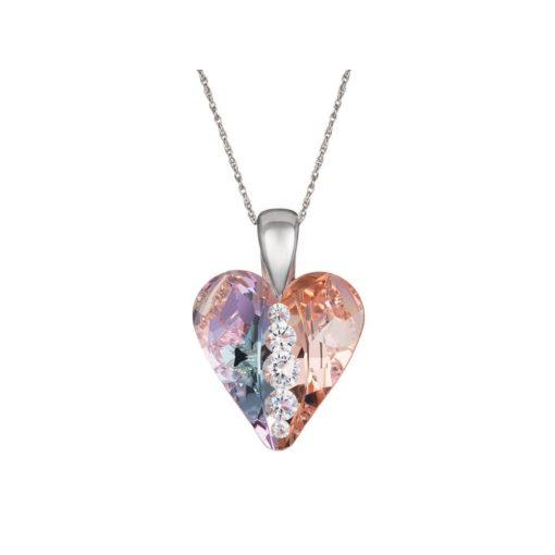 Heart - Szerelemszív - PRECIOSA kristály nyaklánc